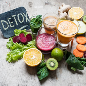 detox veggies